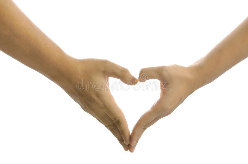 Download Heart Hand Sign stock photo. Image of wedding, dating - 26476662