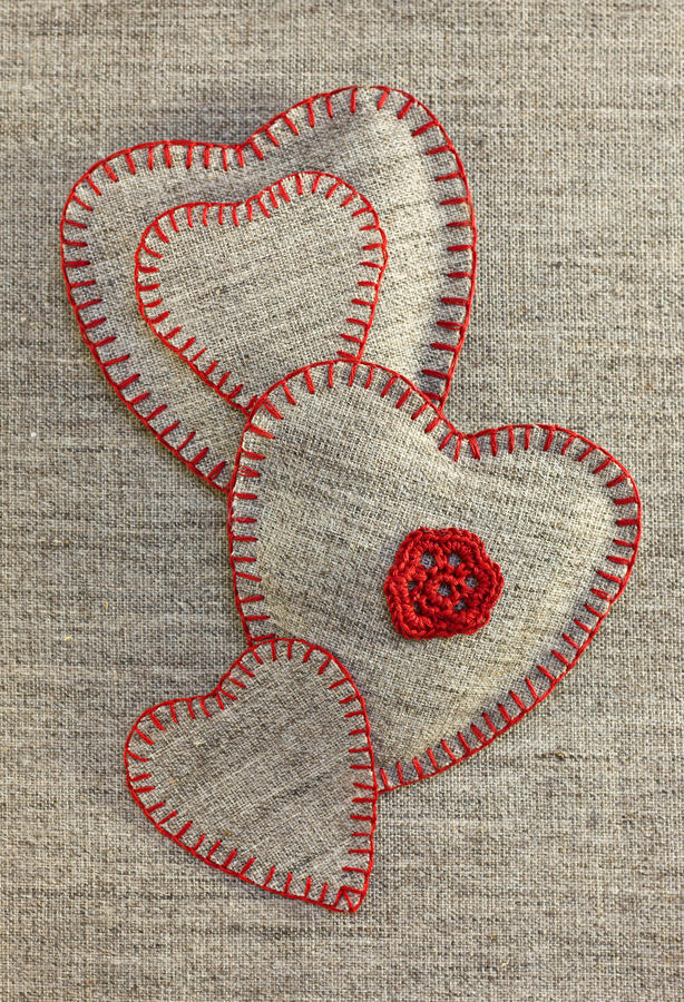 Download Heart Handmade stock photo. Image of fiber, decoration - 28587824