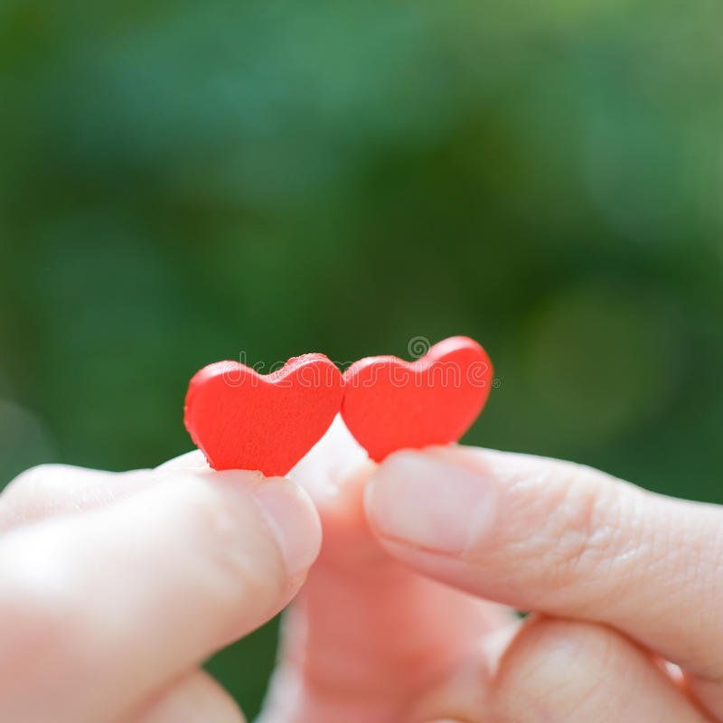 Download Heart In The Hands Stock Photos - Image: 22921903