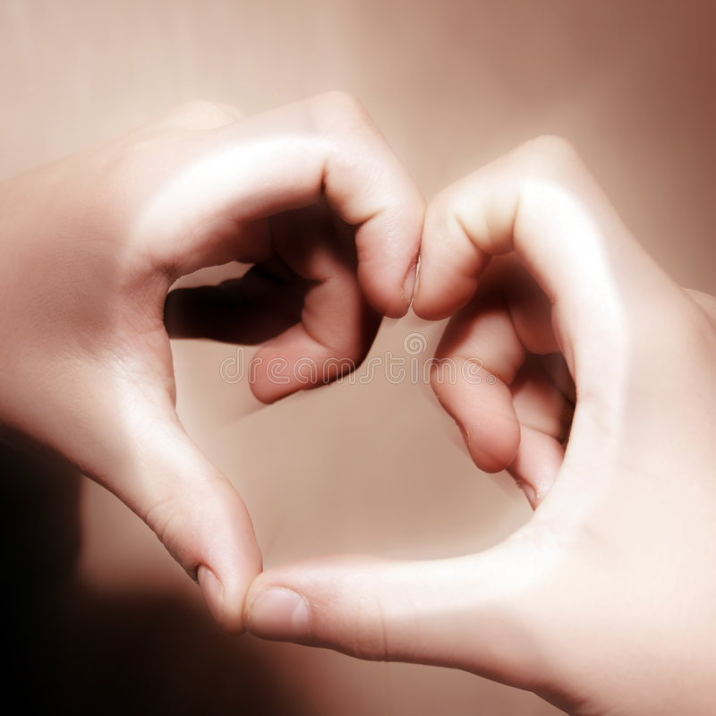 Download Heart From Hands Stock Photography - Image: 7780812