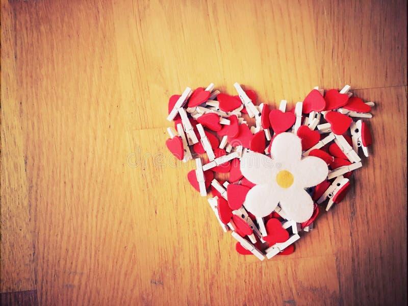 Heart of hearts stock photo