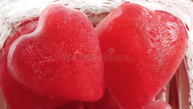 Heart-Ice royalty free stock photography