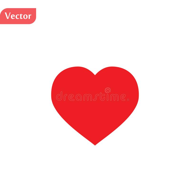 Heart icon. Logo element illustration. heart design. colored collection. heart concept. Can be used in web and mobile vector illustration
