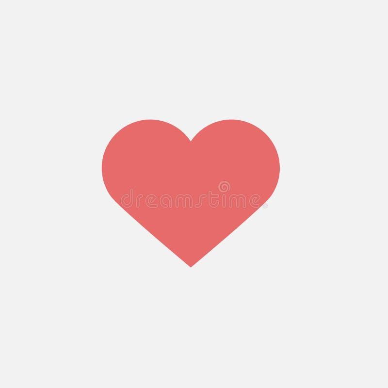 Heart icon, love, valentine, happy. Heart icon, falling in love, love vector stock illustration