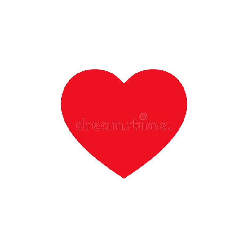 Heart icon. Symbol of love and health. Like symbol. Vector EPS 10 stock illustration