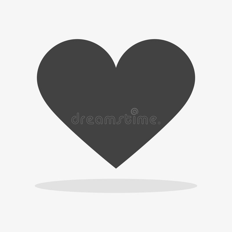 Heart Icon Vector. Love symbol. Valentine& x27;s Day sign, EPS10 pictogram. Heart Icon Vector. Love symbol. Valentine& x27;s Day sign, emblem isolated on white vector illustration