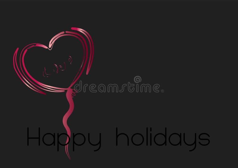 Download Heart illustration 1 stock illustration. Image of christmas - 7454152