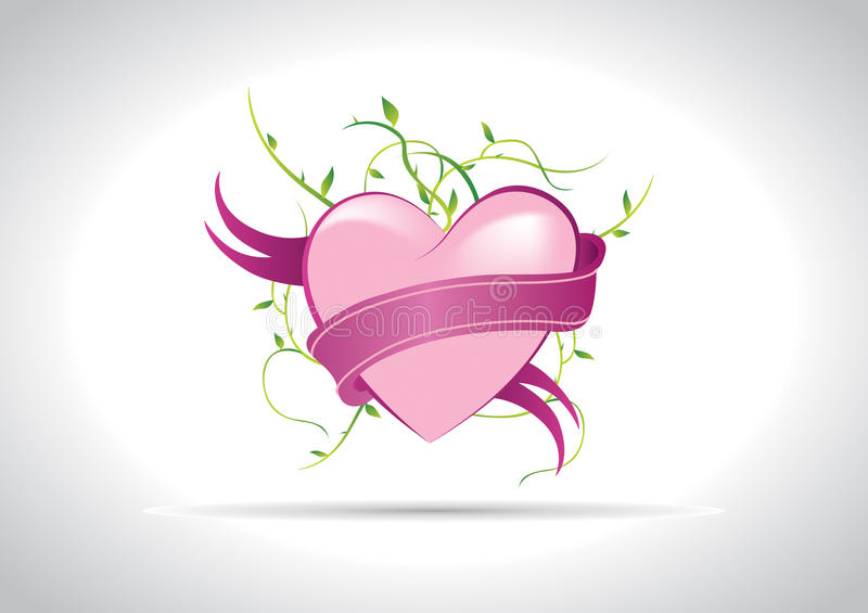 Download Heart Illustration stock vector. Illustration of nature - 12901624