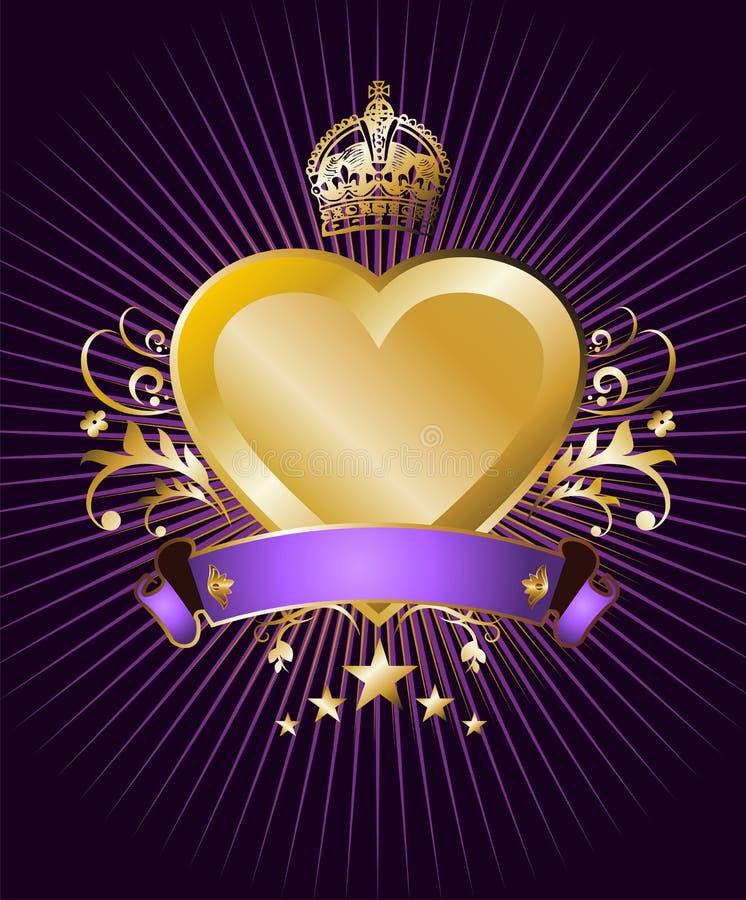 Download Heart label stock vector. Image of leaf, frame, modern - 13935143
