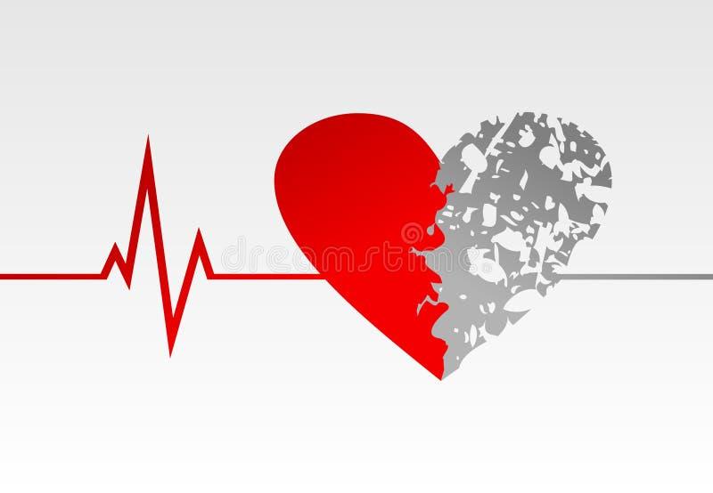 Heart life royalty free illustration