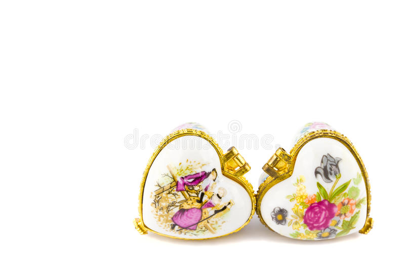 Heart locket stock images