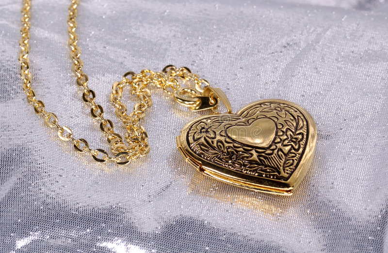 Heart Locket stock photos