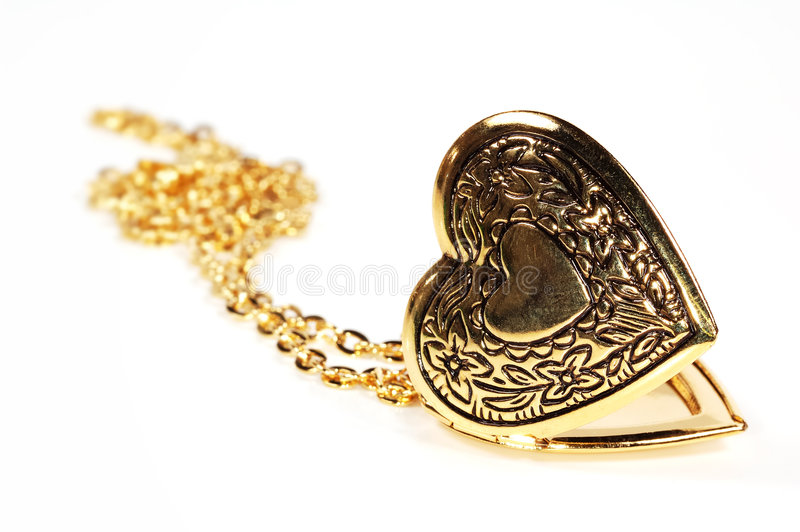 Heart Locket royalty free stock image
