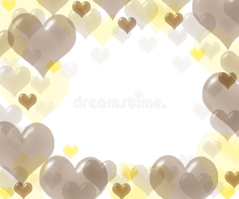 Heart for love stock image