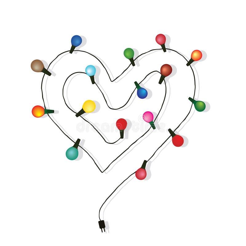 Free Heart Love Light Bulb Vector Stock Photos - 35680733