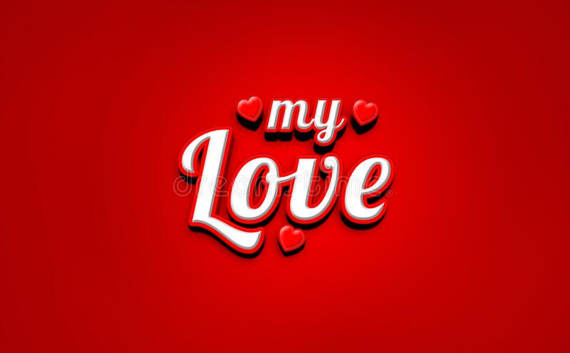 Heart love vector valentine cards symbol of Red lovely Couple romantic royalty free stock images