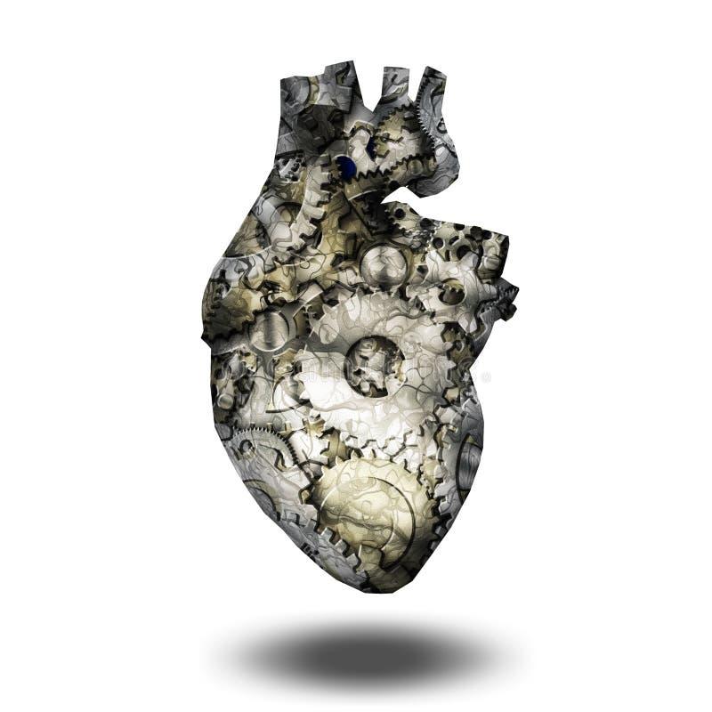 Heart Machine vector illustration