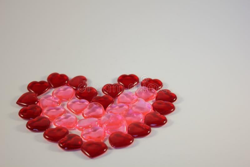 The Heart made of Hearts royalty free stock photo