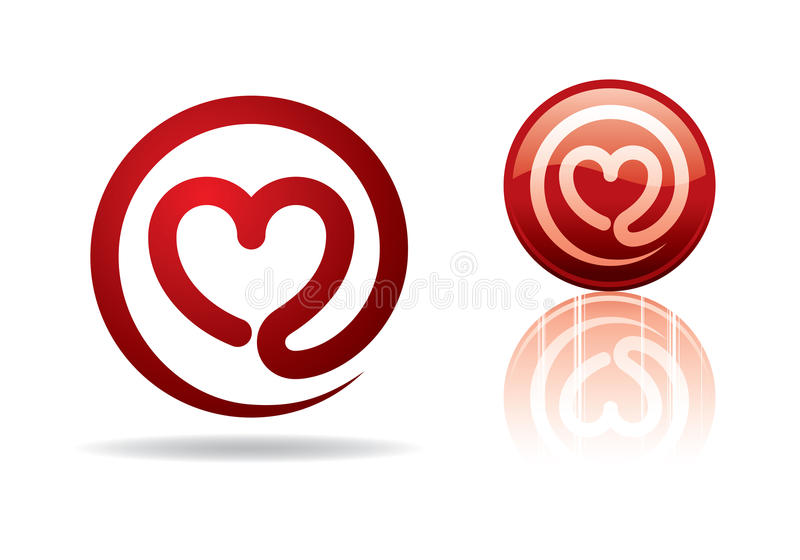Download Heart-mail stock vector. Image of holiday, shape, design - 23002615