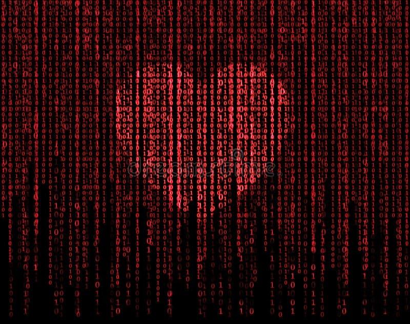 Heart matrix stock illustration