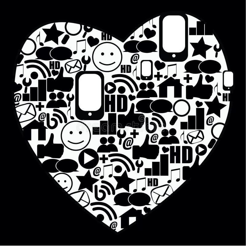 Download Heart media stock vector. Illustration of friends, community - 31512443