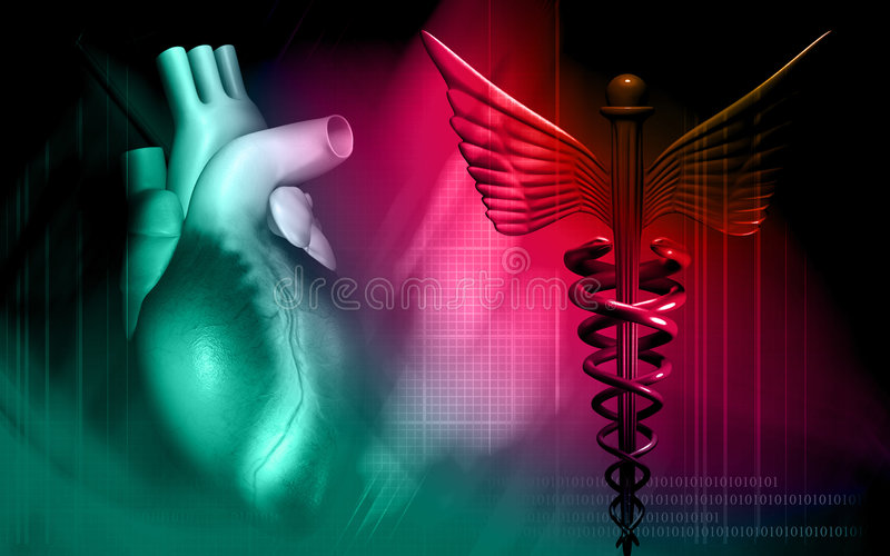 Download Heart With Medical Logo Stock Photos - Image: 7960693