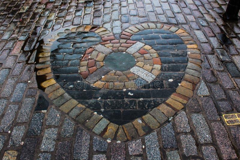 Heart Of Midlothian стоковое изображение