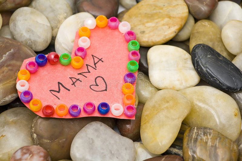 Heart For Mom Royalty Free Stock Photography