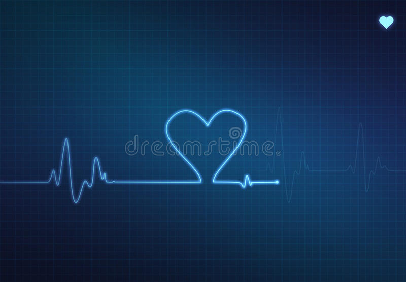 Heart Monitor royalty free illustration