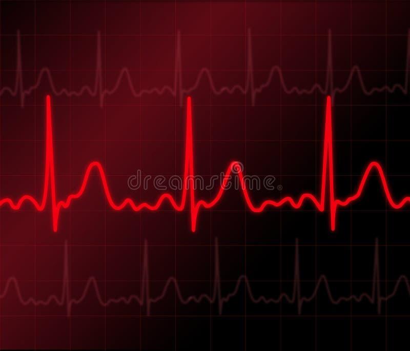 Heart monitor vector illustration