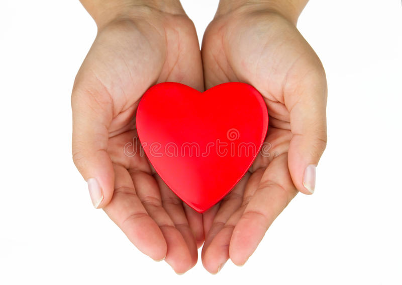 Download Heart On The Palm Stock Images - Image: 15540714