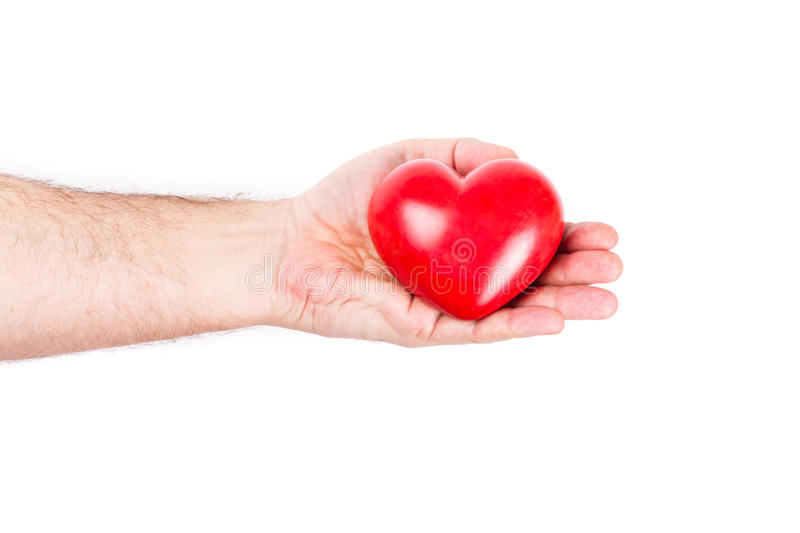 Download Heart On The Palm Royalty Free Stock Images - Image: 29096639