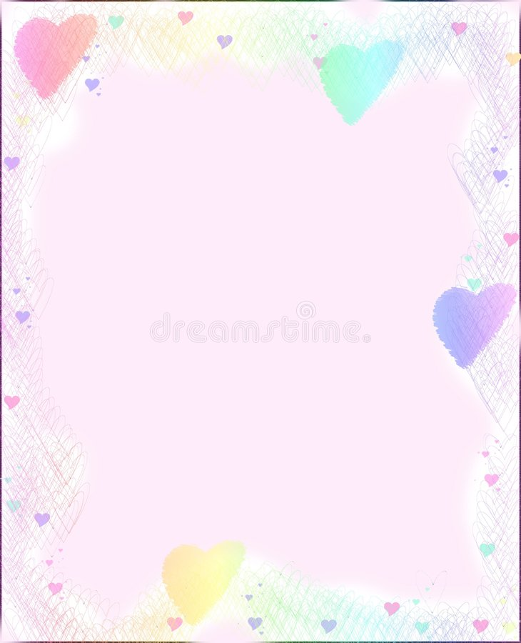 Heart paper. For Valentines Day vector illustration