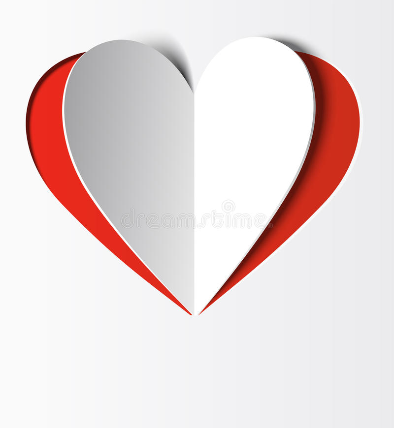 Heart Paper Stock Image