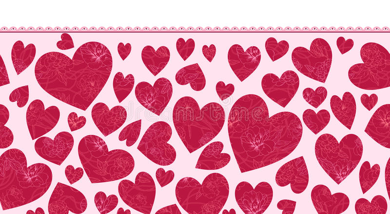 Download Heart pattern stock image. Image of design, pattern, flower - 25217801