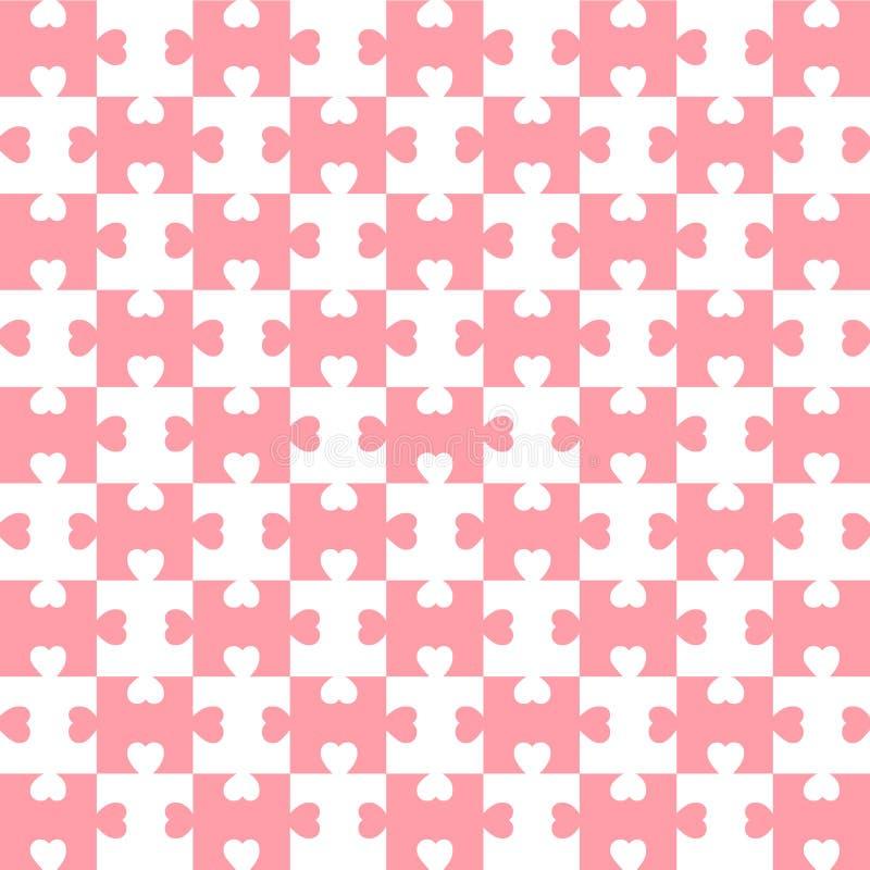 Heart pattern royalty free illustration