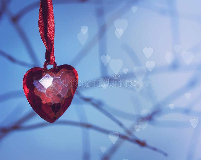 Download Heart pendant stock photo. Image of blue, gift, birthday - 27922756