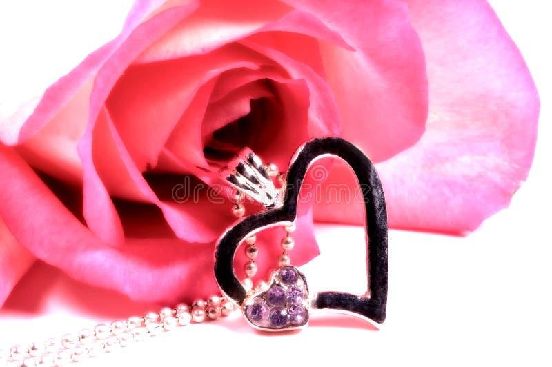 Heart Pendant stock photos