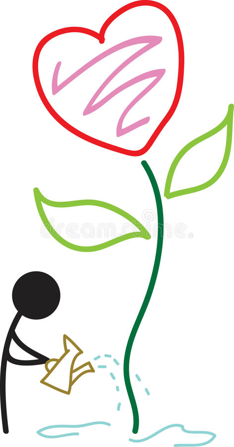 Download Heart plant stock vector. Image of plant, abstract, line - 14656178