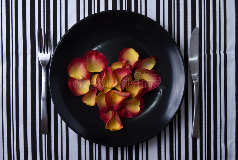 Download Heart on the plate stock photo. Image of dish, course - 11228746