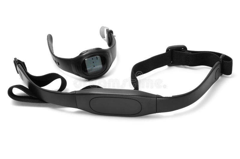 Heart rate monitor royalty free stock image