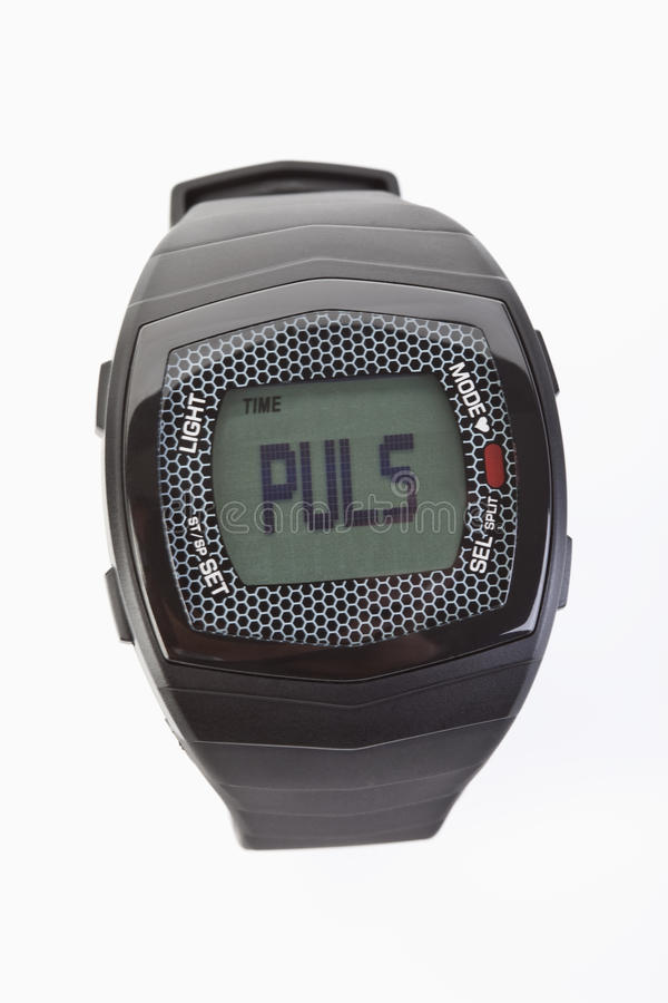 Download Heart rate watch stock image. Image of alarm, gust, watch - 20328331