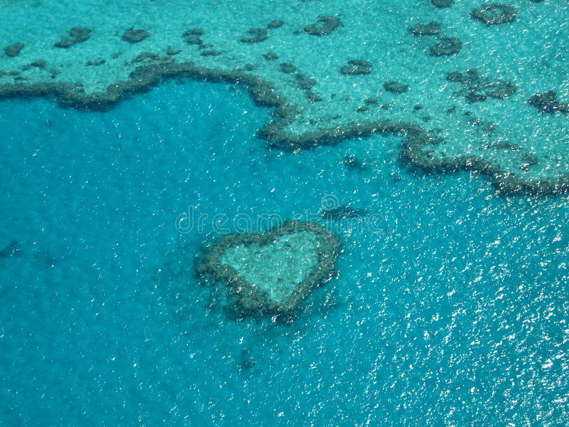 Download Heart Reef stock image. Image of snorkel, tide, postcard - 1598621