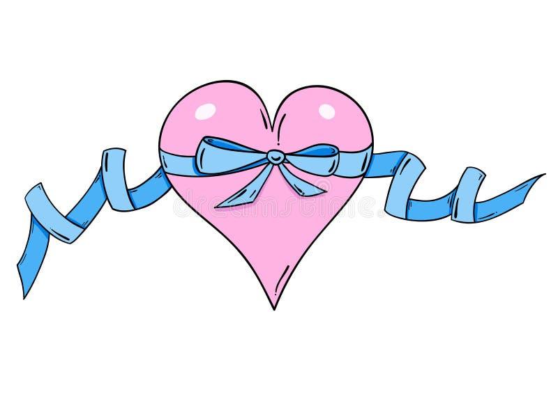 Heart Ribbon Royalty Free Stock Photo