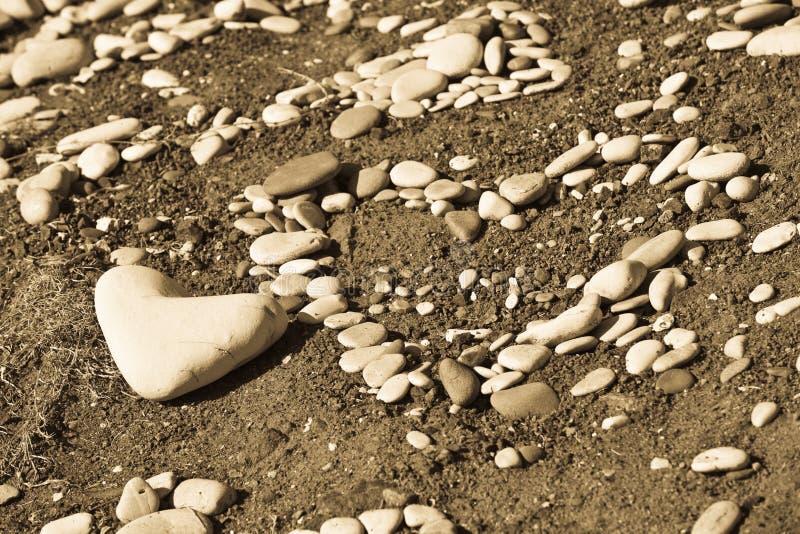Heart Rocks royalty free stock photography
