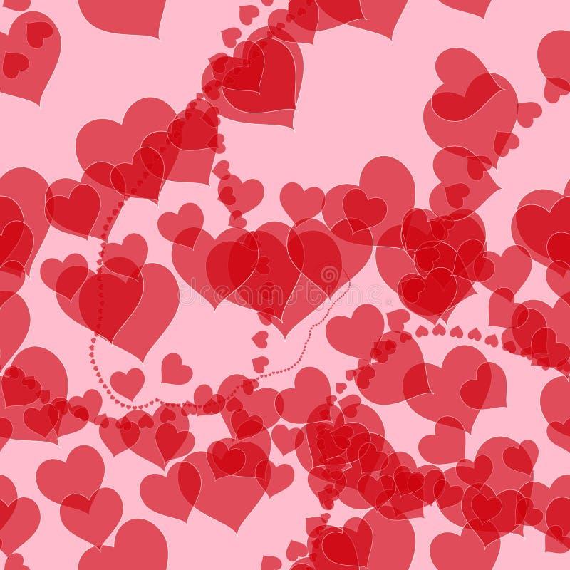 Download Heart Romance Valentines Background Stock Illustration - Image: 12370472