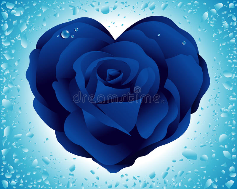 Download Heart rose stock vector. Illustration of fashion, love - 10029938