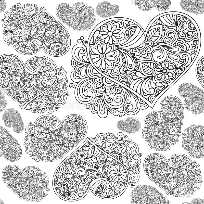 Free Heart Seamless Pattern Royalty Free Stock Photo - 18237445