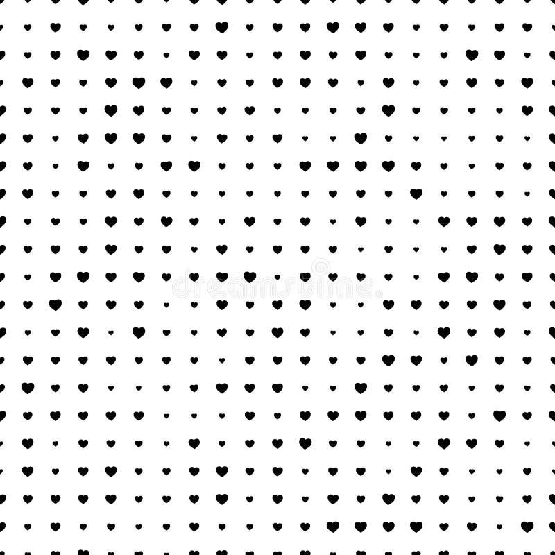 Heart Seamless stock illustration