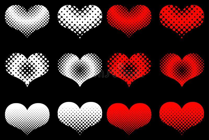 Download Heart Set , Valentine Heart, Stock Vector - Image: 83712162